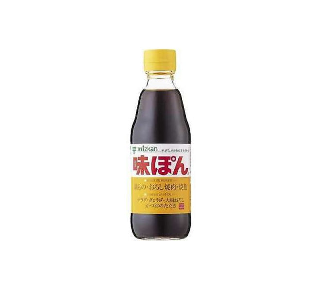 Mizkan Ponzu Citrus Seasoned Soy Sauce (Ajipon) 360ml