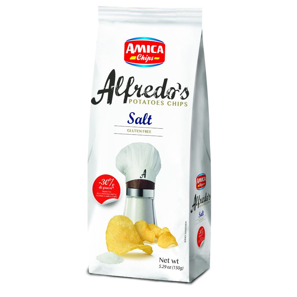 Amica Alfredo's Sea Salt Chips
