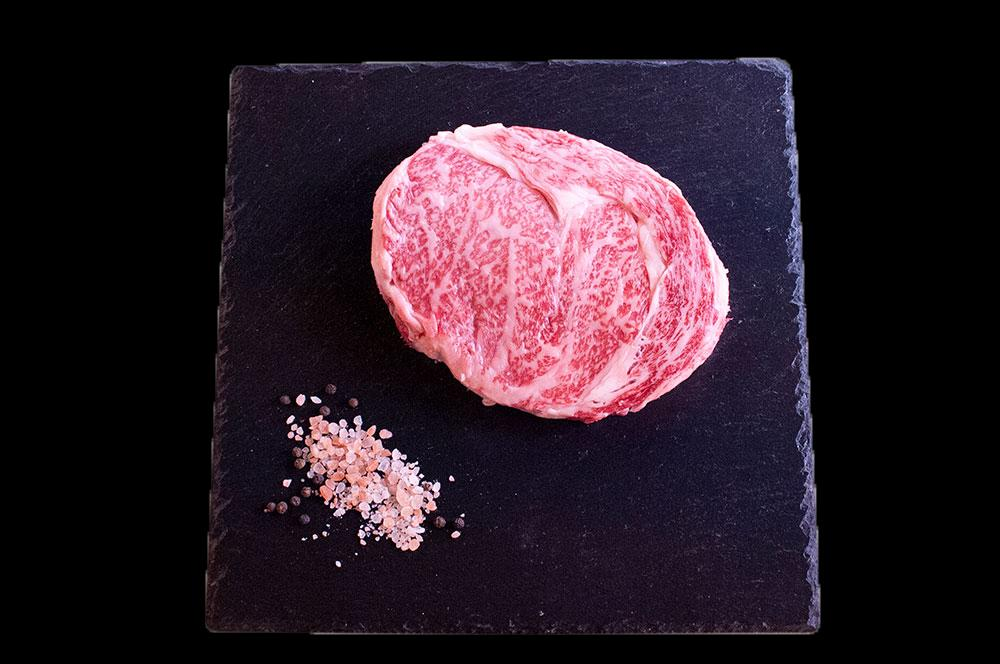 Australian Wagyu Beef Whole Rib Eye Steak 9+ Marbling