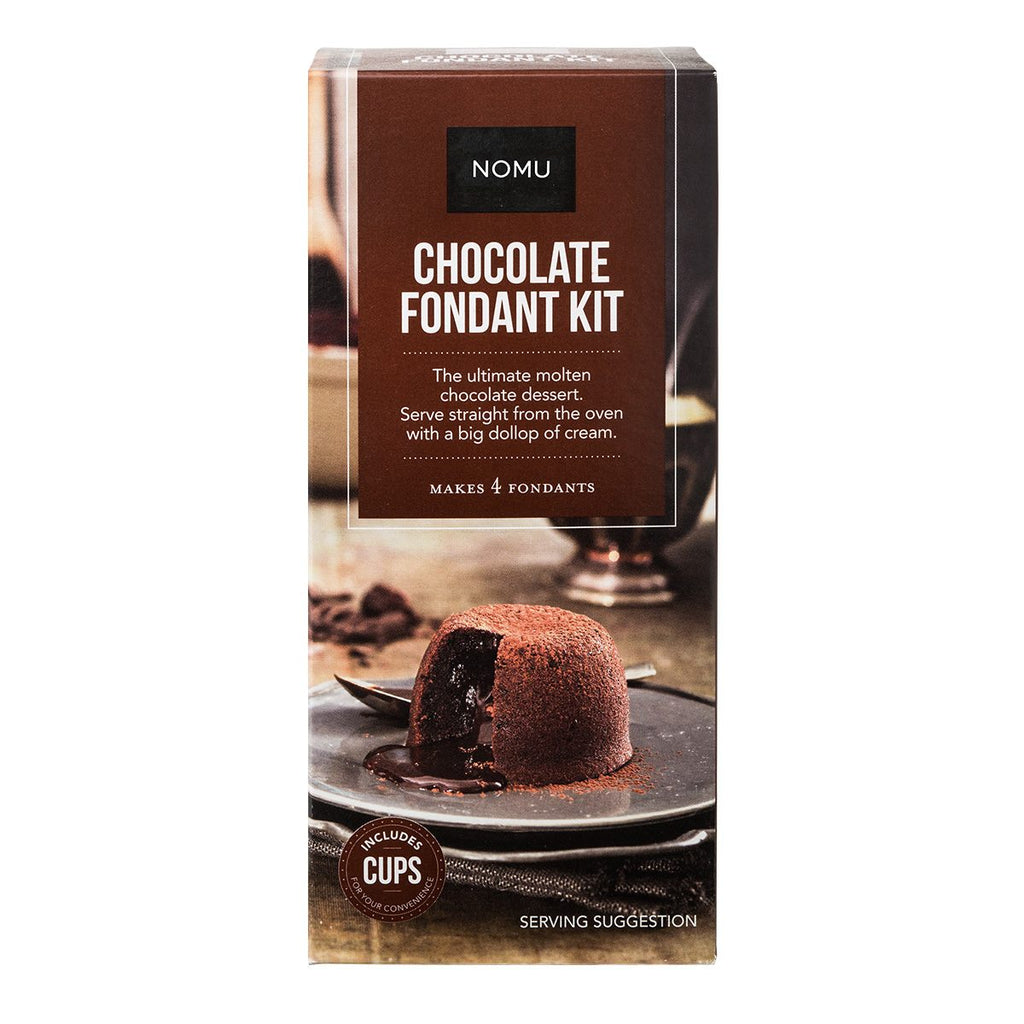 Nomu Chocolate Fondant Baking Kit (Moulds included)