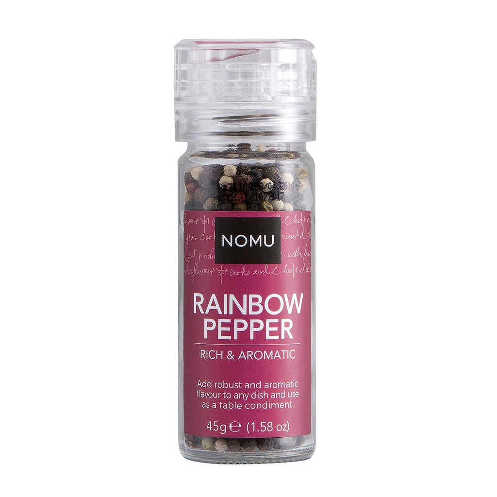 Nomu Rainbow Pepper Grinder 45g