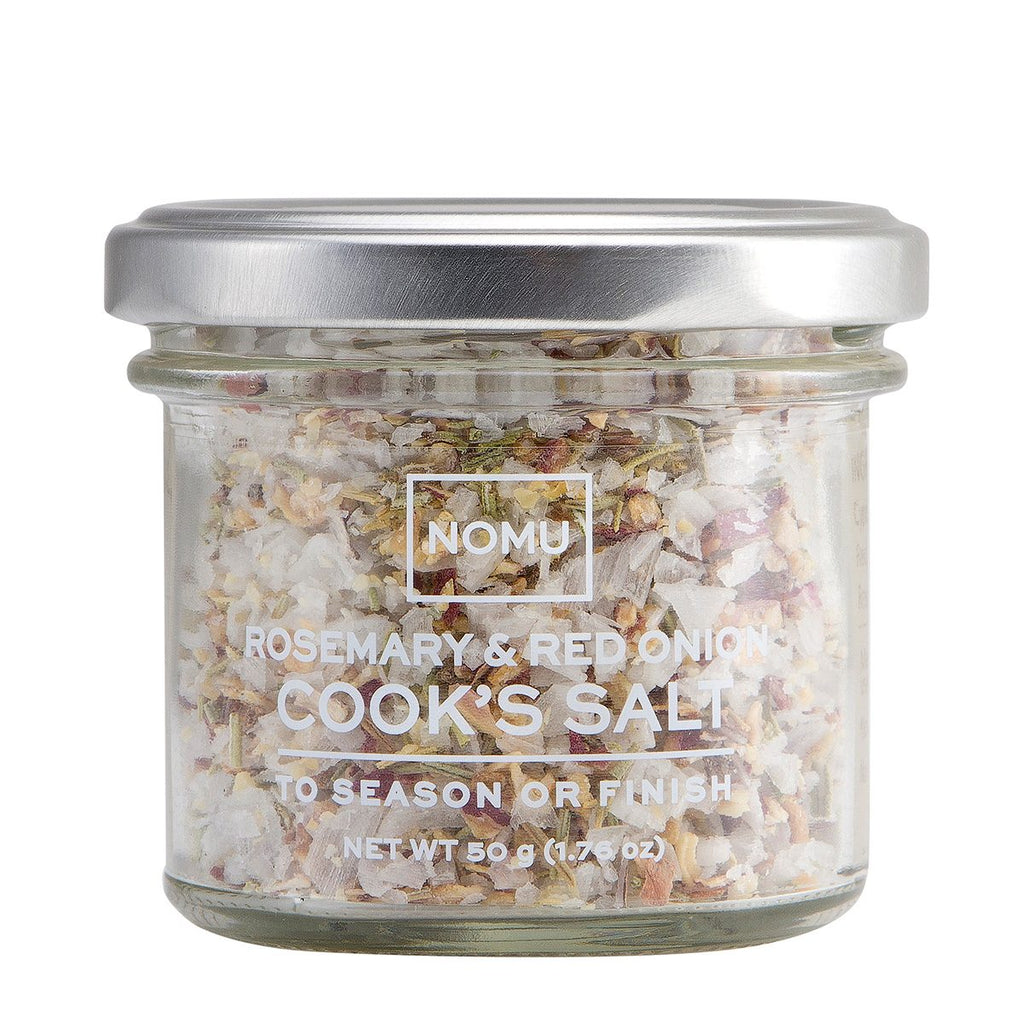 Nomu Cook's Collection Rosemary & Red Onion Cook's Salt 55g