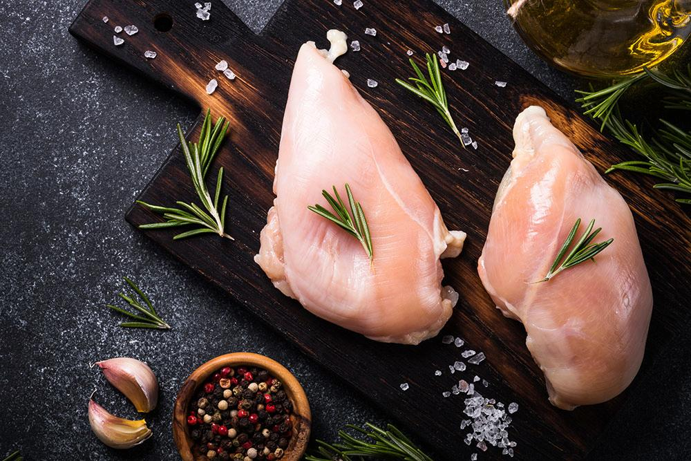 New Zealand Defrosted Skinless Chicken Breast
