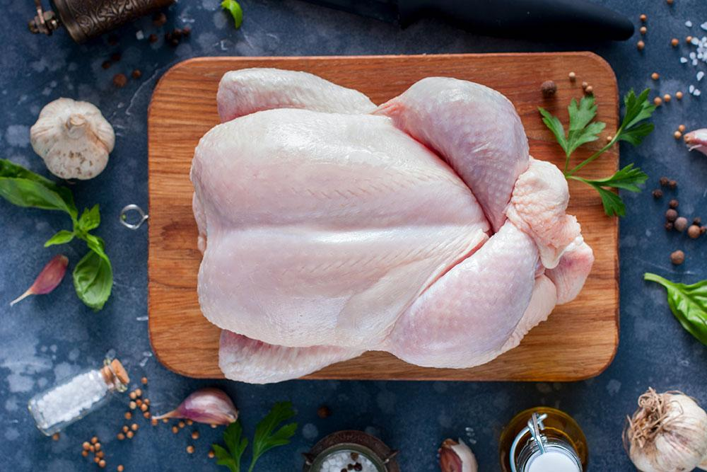 New Zealand Free Range Frozen Whole Chicken 1.35kg