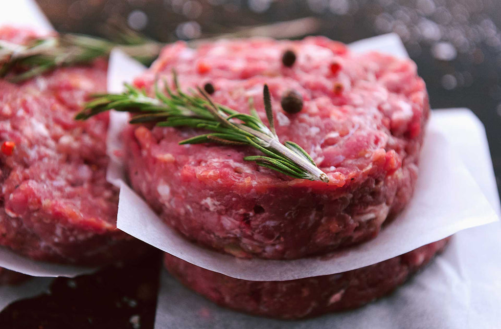 New Zealand Reserve Grass Fed Beef Burgers
