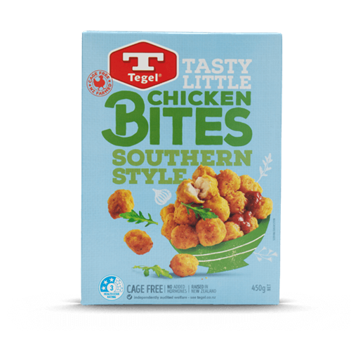 Tegel Southern Style Chicken Bites 450g