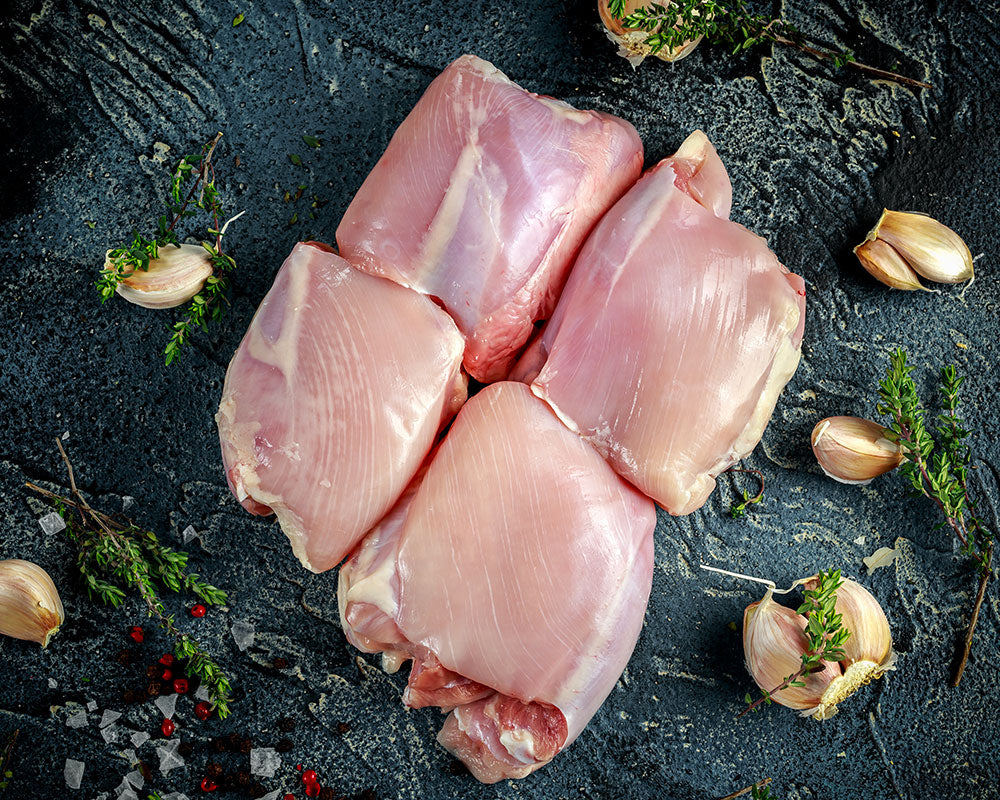 New Zealand Defrosted Boneless & Skinless Chicken Thighs