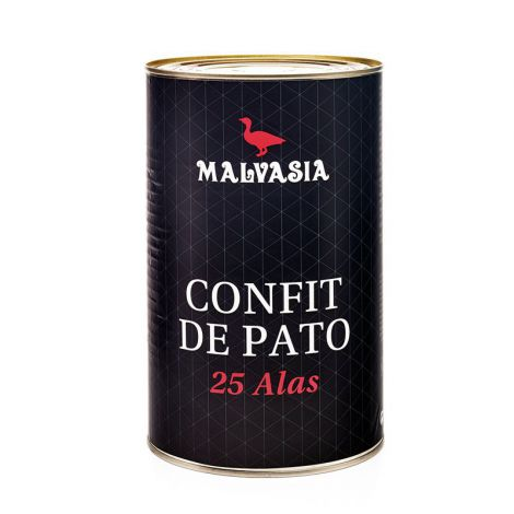 Malvasia Halal Duck Wing Confit, 25 Wings 3.8kg