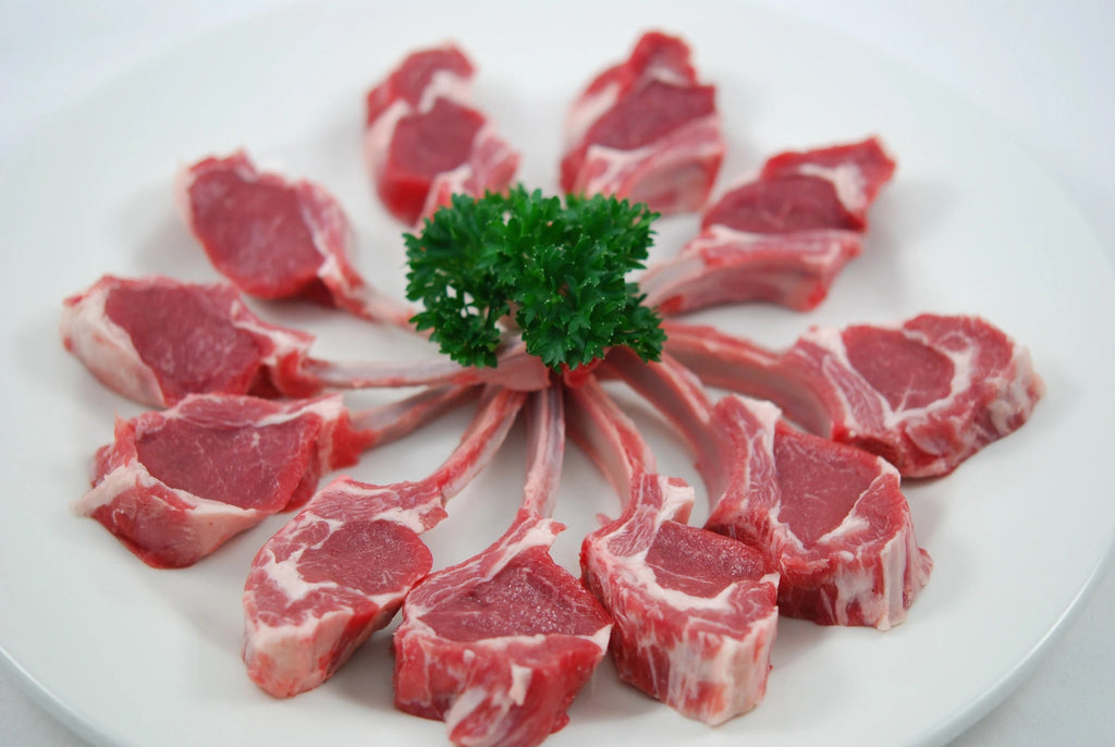 New Zealand Grass Fed Frenched Lamb Cutlets