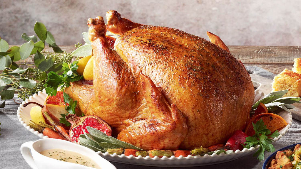 Roasted Whole New Zealand Tenderbasted Turkey
