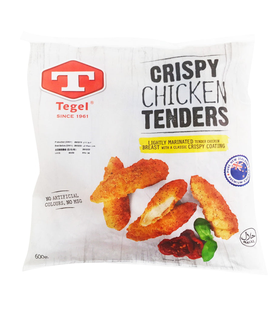 Tegel Frozen Crispy Chicken Tenders 600g