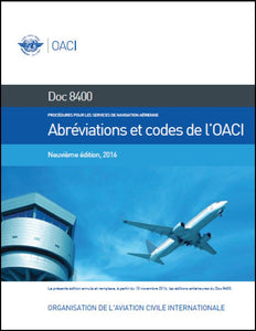 Procedures for Air Navigation Services (PANS) -  ICAO Abbreviations and Codes (Doc 8400)