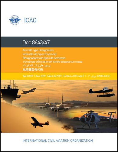 Aircraft Type Designators (Doc 8643)