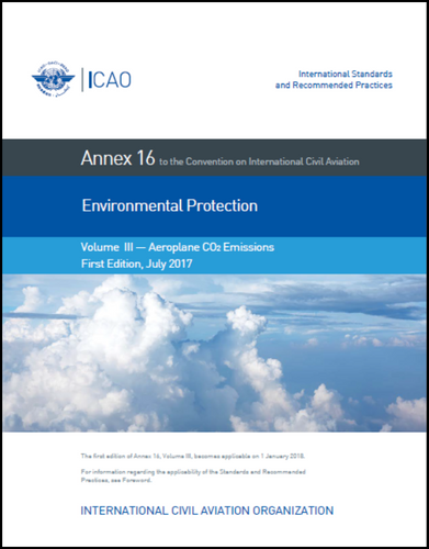 Annex 16 - Environmental Protection - Volume III - Aeroplane CO2 Emissions