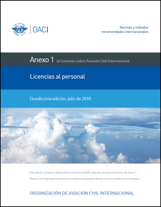 Annex  1 - Personnel Licensing