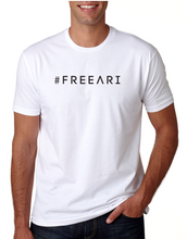 Load image into Gallery viewer, #FreeAri Unisex Tee