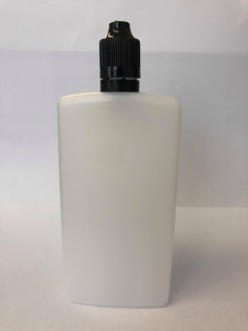 10 x 120ml Thin Flask Type Bottles