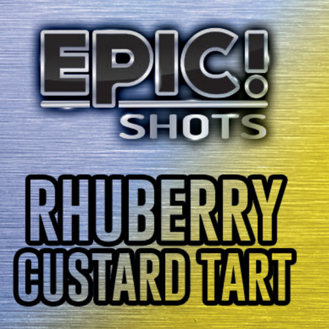 Rhuberry Custard Tart 30ml - Epic Shots