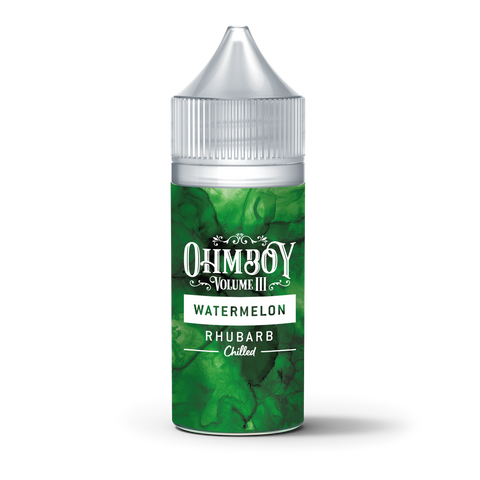 Watermelon, Rhubarb Chilled 30ML - Ohm Boy OneShots