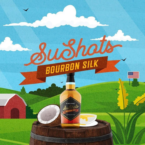 Bourbon Silk 30ML - SuShots