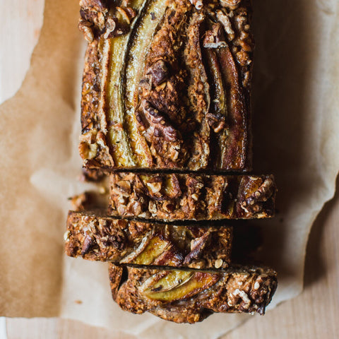 Banana Nut Bread - DIYFS