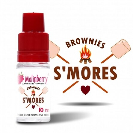 Smore's Marshmallow Brownies - Molinberry