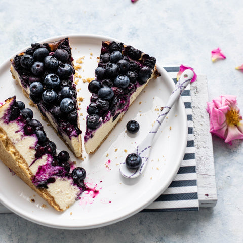 Blueberry Cheesecake - Mom & Pops