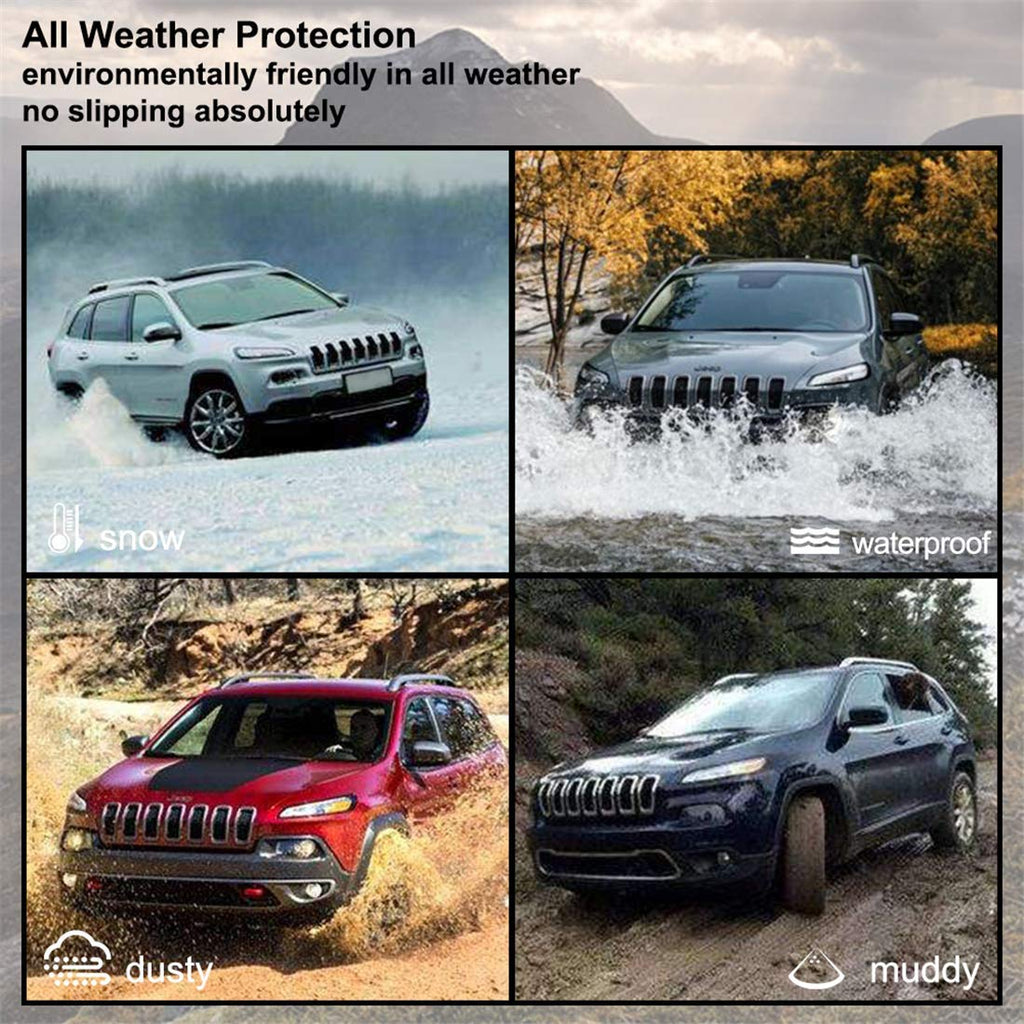 Floor Mats for 2014-2018 Jeep Cherokee All Weather Protector Liners