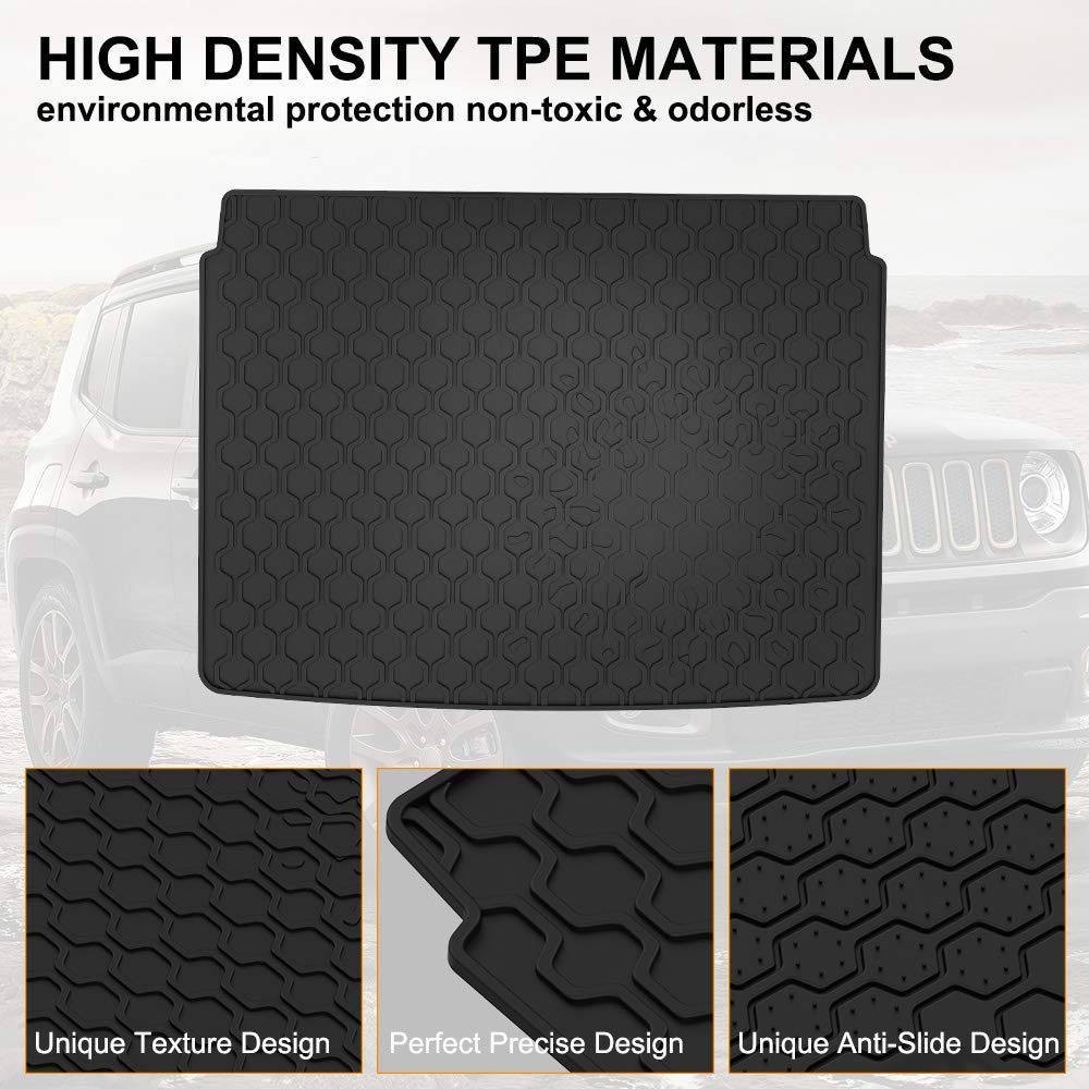 Cargo Liner for 2015-2019 Jeep Renegade All Weather Mat