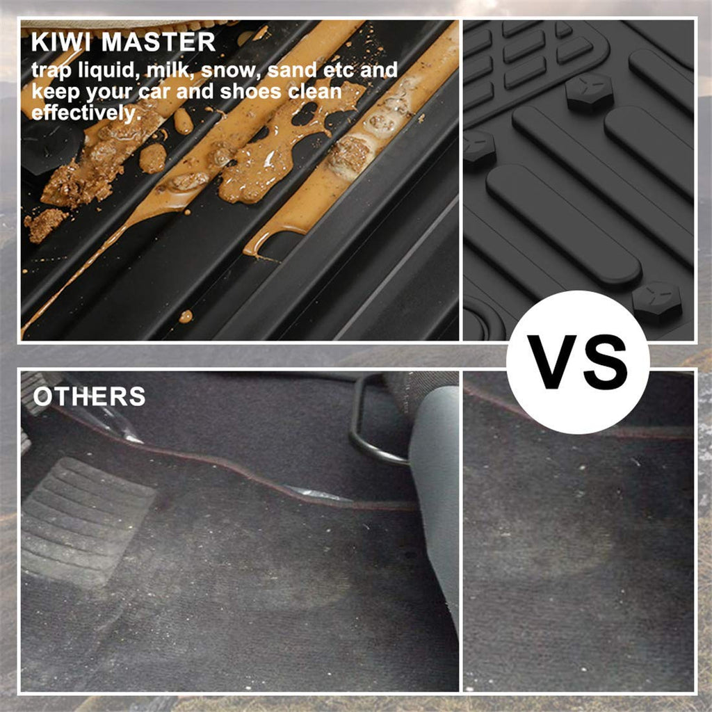 KIWI MASTER Floor Mats Liners Compatible for 2014-2018