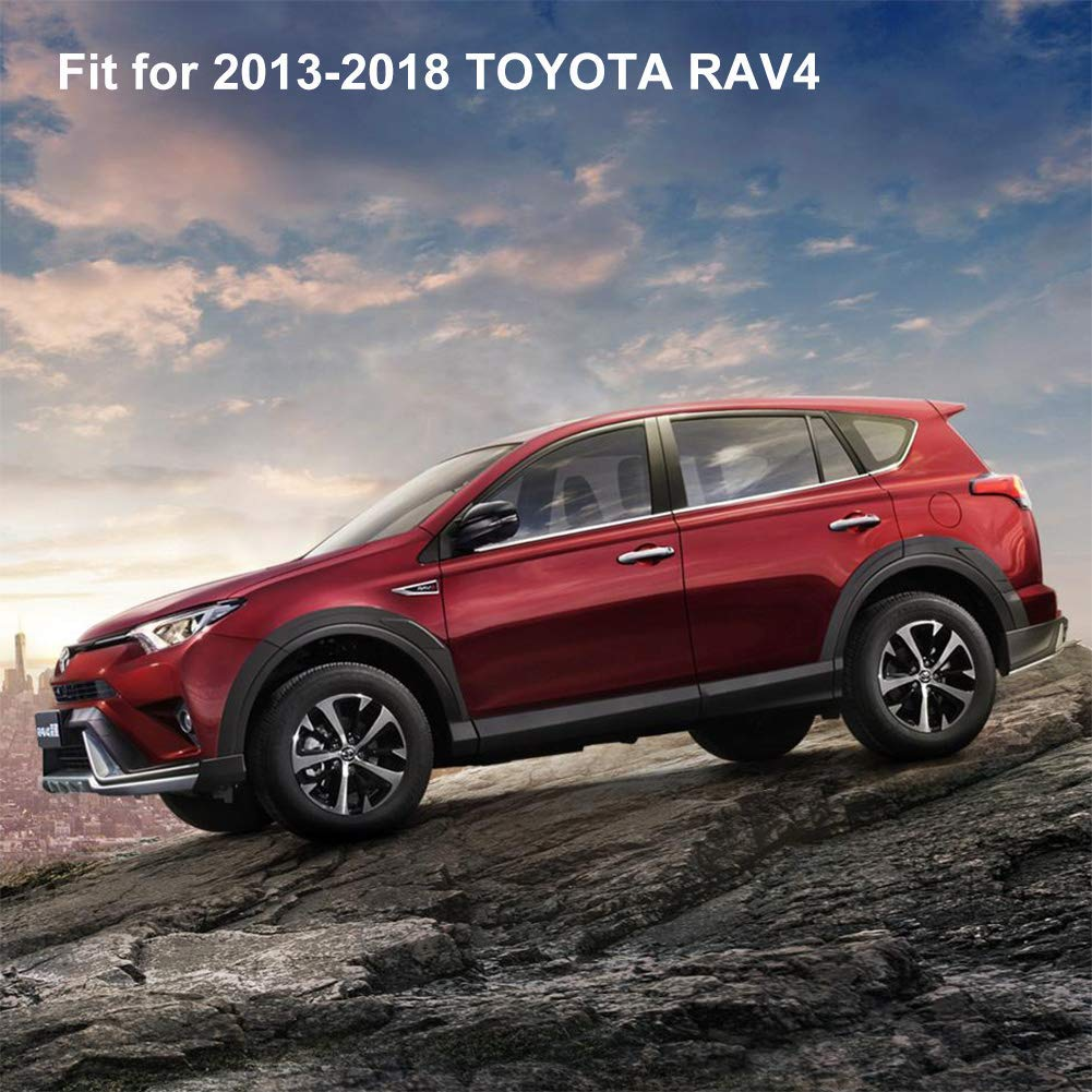 Floor Mats for 2013-2018 Toyota RAV4 All Weather Protector Liners