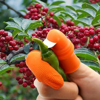 Multipurpose gardening thumb knife