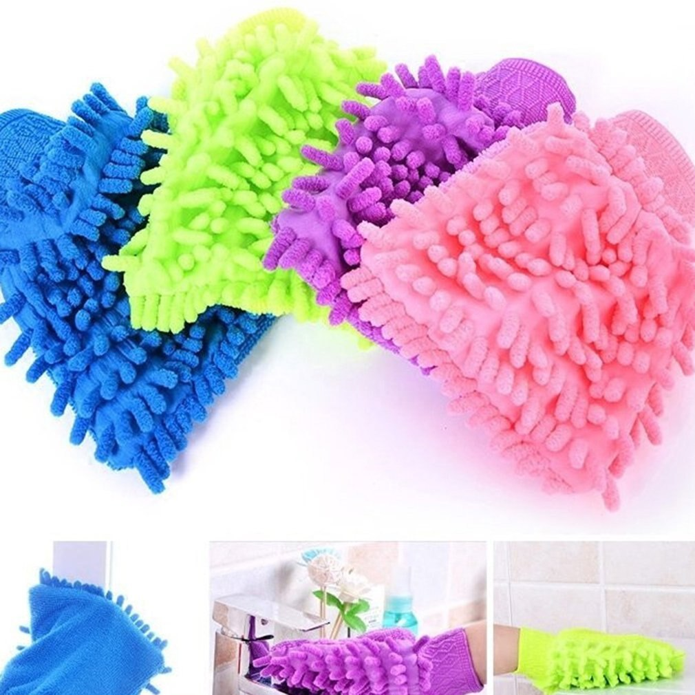 Car Wash Microfibre Mitt