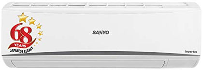 Sanyo 1 Ton 3 Star Inverter Split AC (Copper SI/SO-10T3SCIC White)