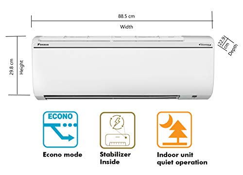 Daikin 1.8 Ton 5 Star Inverter Split AC (Copper FTKG60TV White)