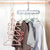 Indoor Wardrobe hanger clothes organizer (Pack of 5)