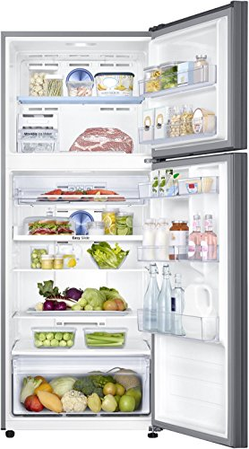 Samsung 465 L 3 Star Frost Free Double Door Refrigerator(RT47M623ESL/TL, EZ CLEAN STEEL)