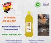 Traditional Organic Pure Cold Pressed Groundnut Oil