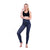 women sexy gym high elastic waist milk fabric leggings Halloween plaid