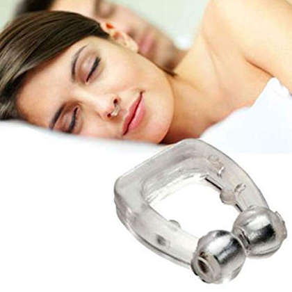 Portable Anti Snore Nose Clip Pack of 2