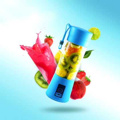 EasyJuice - 2000mAh QUICK RECHARGEABLE PORTABLE BLENDER - USB 2.0
