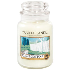 Yankee Candle Large Clean Cotton Jar