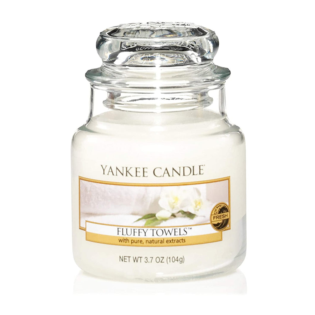 Yankee Candle Small Fluffy Towels Jar