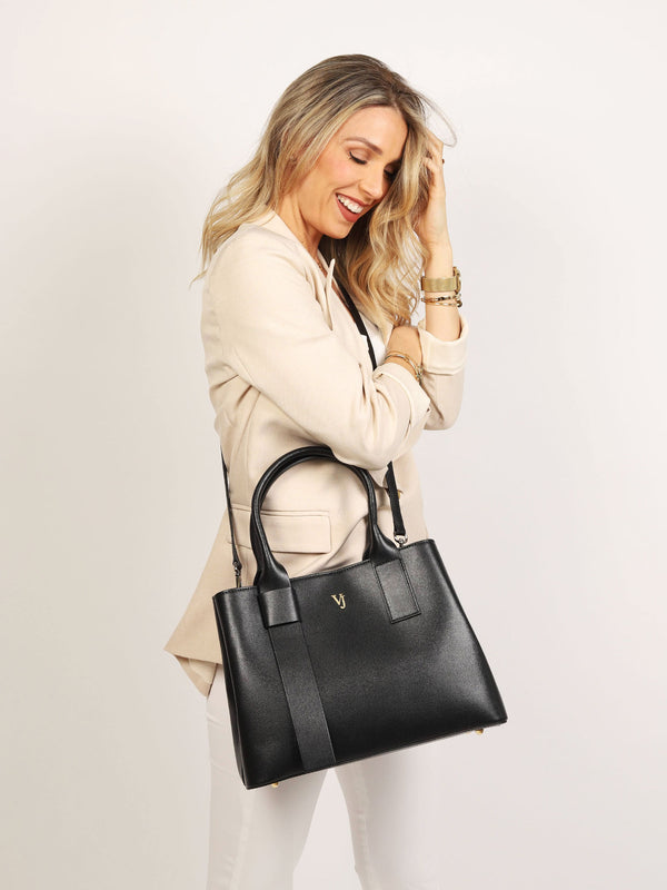 Aosta Tote Bag Black