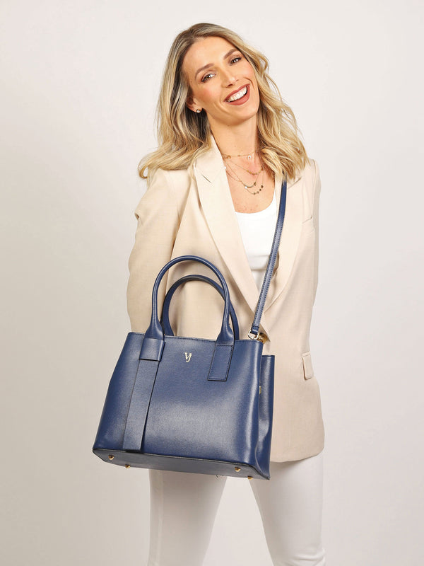 Aosta Tote Bag Royal Blue