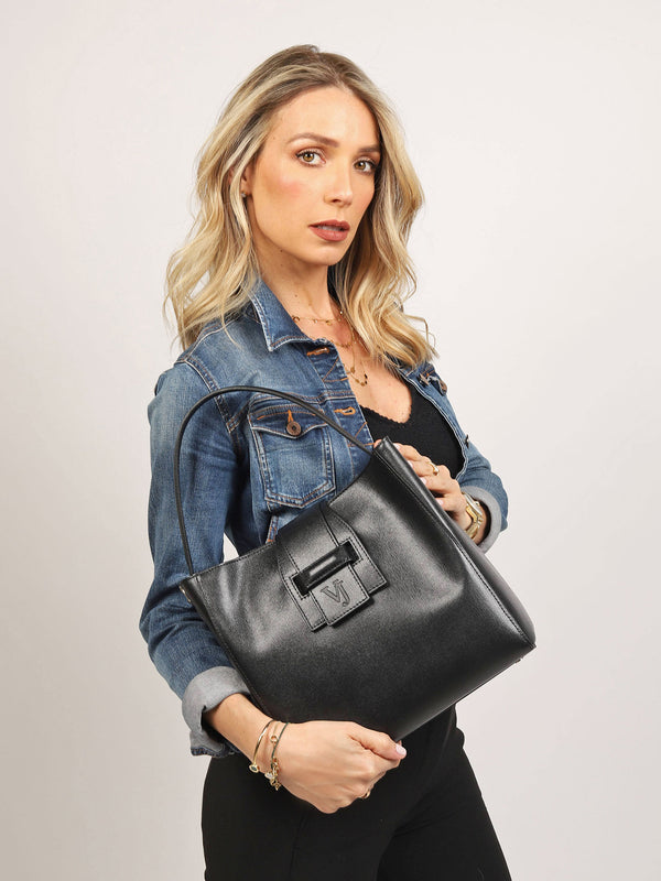 Valencia LUXE Tote Bag Charcoal