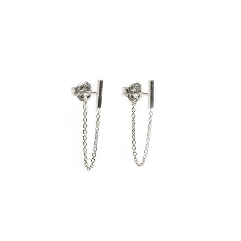Earrings | Bar & Chain