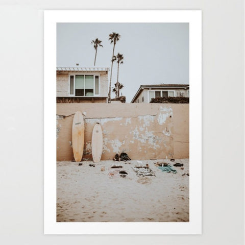 Art Print | California Beach