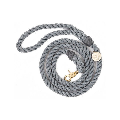Berry Zoo | Dog Lead GREY GOLD