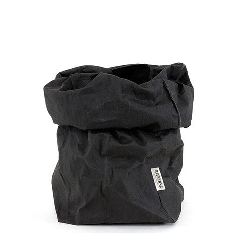 Uashmama Paper Bag - Black